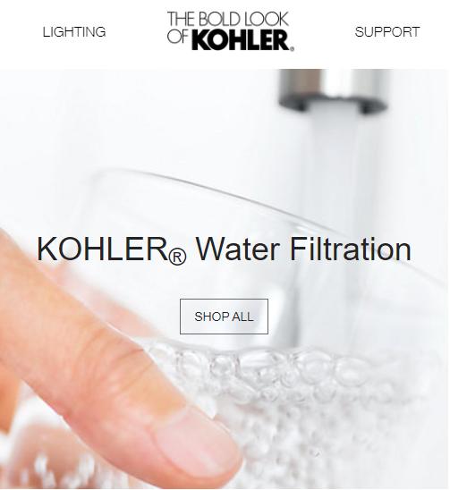 Chứng nhận chất lượng của Kohler