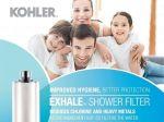 Lọc nước cao cấp cho Spa Kohler